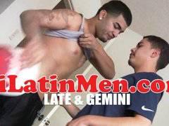 Tatted Latino fucking latin ass