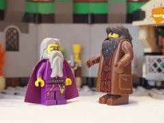 DUMBLEDORE FUCKS HAGRID LEGO HARRY POTTER