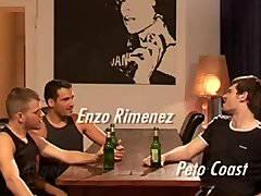 Peto Coast, Enzo Rimenez et Angel Tyessen
