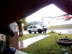 public cock front porch