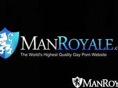 ManRoyale Hot guys get home to get in action