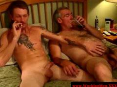 Gaysex mature bears fuck and suckfest