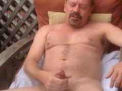Hot older man with a huge cock