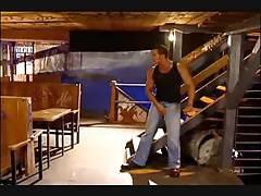 Smoking ted cruises the basement