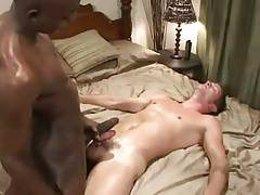 Interracial back cock BB