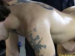Gayamateur jock getting his cock toyed