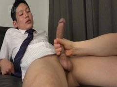 Fuck office man with a big cock