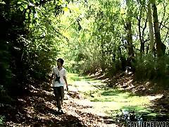Horny Fucking In The Forest