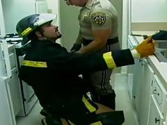 Cop and the fireman