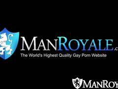 HD - ManRoyale Shaving time gets steamy