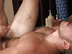 Stud gets his sweet ass raw fucked.