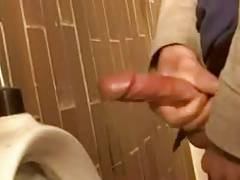 Fantasy men's room action