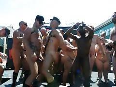 Dancing Nude in Public