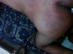 see how 9 incher cock fuking my tight ass badely