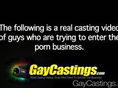 HD - GayCastings Cute guy wants dick in ass