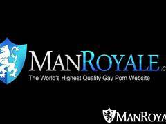 HD - ManRoyale Sensual massage raw fucking