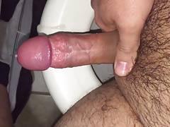 Jercking off my cock