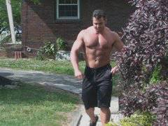 Frank Defeo Muscle Hunk with Big Dick
