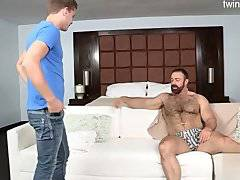 Brutal son first handjob