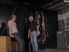 Horny guys hardcore gang bang