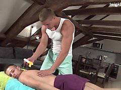 Brutal brothers first anal sex