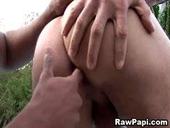 Sexy Gay Latino Men Bareback Fucking