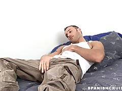 Str8 hung hunk stroking
