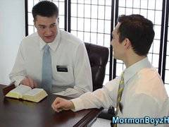 Mormon elders ass filled