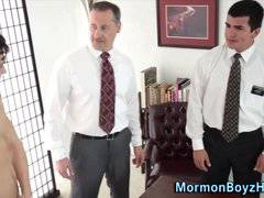 Mormon elder cum anointed