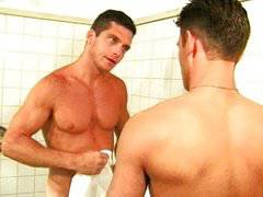 Sam Crockett in the Shower