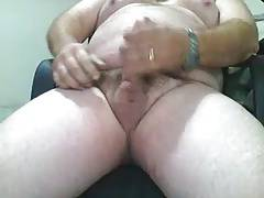 FAT SWEET MAN W CUM
