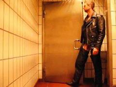 Leather Guy Mens Room