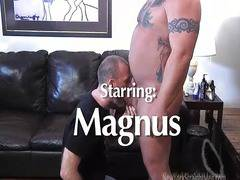 Bodybuilder Magnus Blowjob by Sean