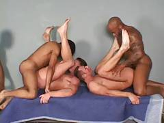 Foursome interracial
