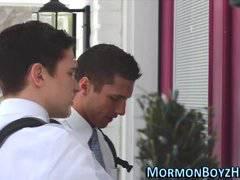 Mormon cum fills elder