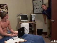 Naughty gay gets anally fucked