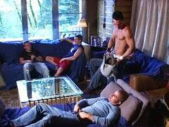 Bunch of Guys Prentending Not To Be Gay