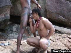 Angry Long Hard Cock of Latino Gay Stick on A