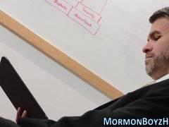 Mormon bishop masturbates