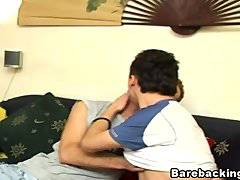 Horny Gays Hot Cock Sucking and Barebacking