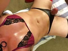 sissy panty play