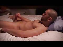 Str8 men stroke before bed