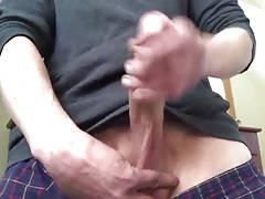 Str8 stroke the monster cock
