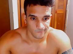 Str8 romanian young bodybuilder stroke