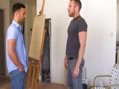The Artist fuck his model