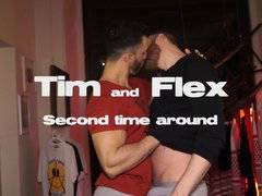 Tim & Flex. Second time around. Power fuck