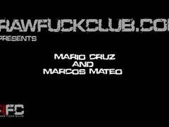 Mario Cruz & Marcos Mateo fuck bareback