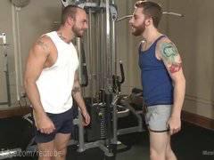 Gym Stud Begs To Cum