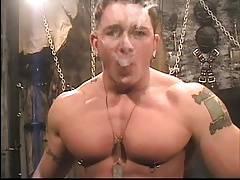 Tony DeFina smoking