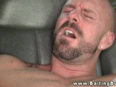 Straight amateur cumshots after anal